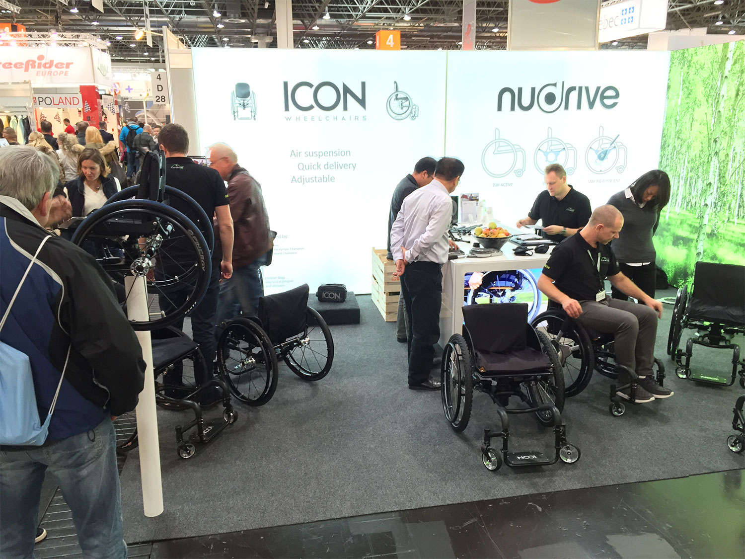 It is time for Rehacare in Düsseldorf again